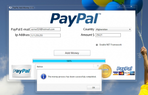PayPal account generator