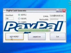 PayPal cash generator