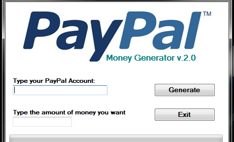 PayPal Money Generator