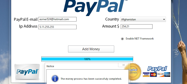 Paypal Money Adder 2021